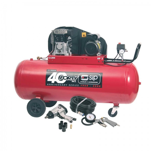 SIP 04294 COMPRESSOR FORTY-TN3HP/200-SRB