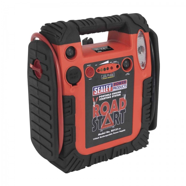 Sealey RS131 RoadStart Emergency Power Pack 12V 900 Peak Amp