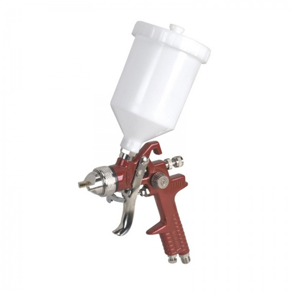 Sealey HVLP741 Gravity Feed Spray Gun 1.3mm Set-Up