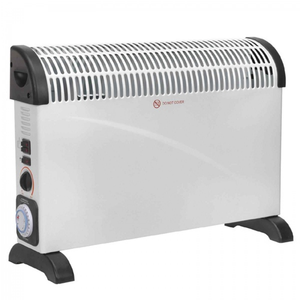 CD2005TT HEATER CONVECTOR 200W/230V WITH TURBO AND TIMER