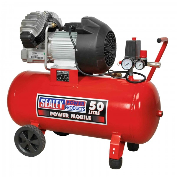 SEALEY SAC05030 COMPRESSOR DIRECT DRIVE 50LTR