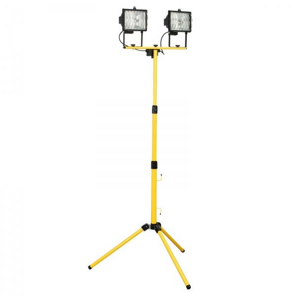 SEALEY ML1000D TELESCOPIC HALOGEN FLOODLIGHT 2 X 400W/240V