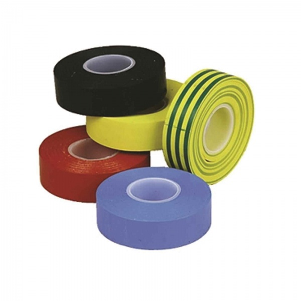 TAPE INSULATING GREEN/YELLOW 19MM X 33MTR