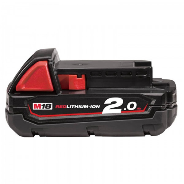 MILWAUKEE BATTERY M18B2 2.0AH LITHIUM-ION