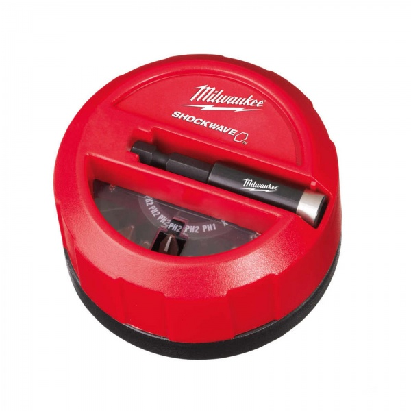 MILWAUKEE 15 PIECE SHOCKWAVE PUCK SET