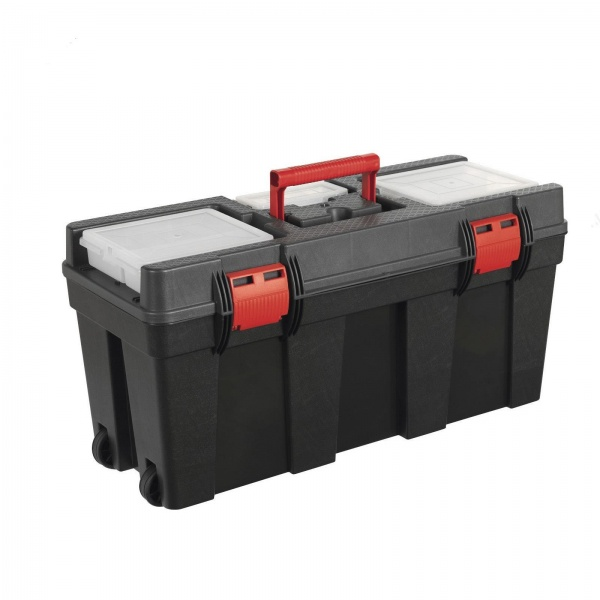 SEALEY AP528 TOOLBOX 650MM WITH TOTE TRAY AND WHEELS