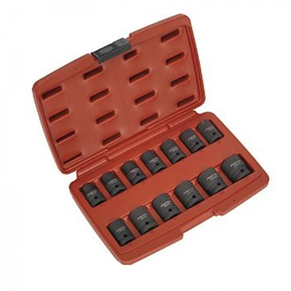 SEALEY AK5613TD SOCKET IMPACT SET 1/2 INCH 13PC SQ DRIVE