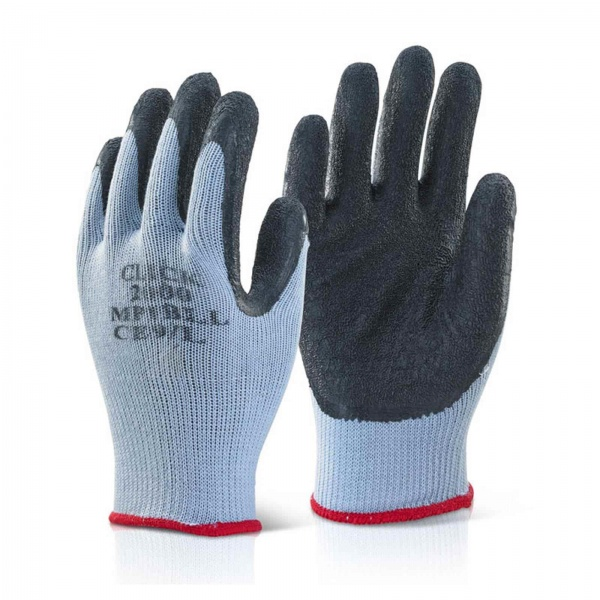 GLOVES MP1 LATEX COATED SIZE