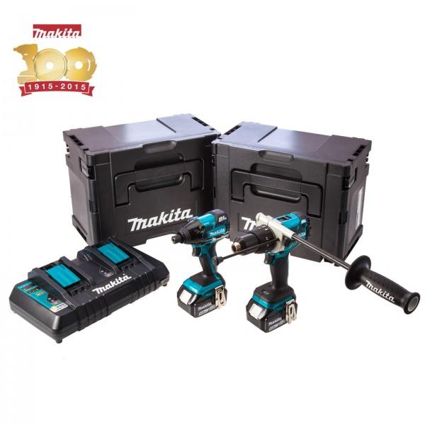 MAKITA DLX2040SPE 18V BRUSHLESS TWIN PACK