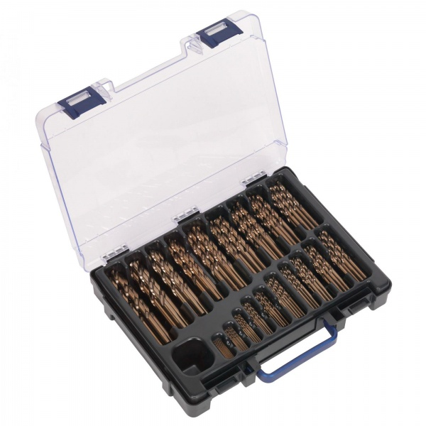 DBS170CB HSS COBALT FULLY GROUNG DRILL BIT ASSORTMENT 170PC