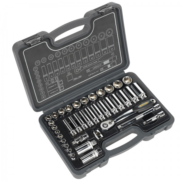 SEALEY AK7952 SOCKET SET 38PC 3/8