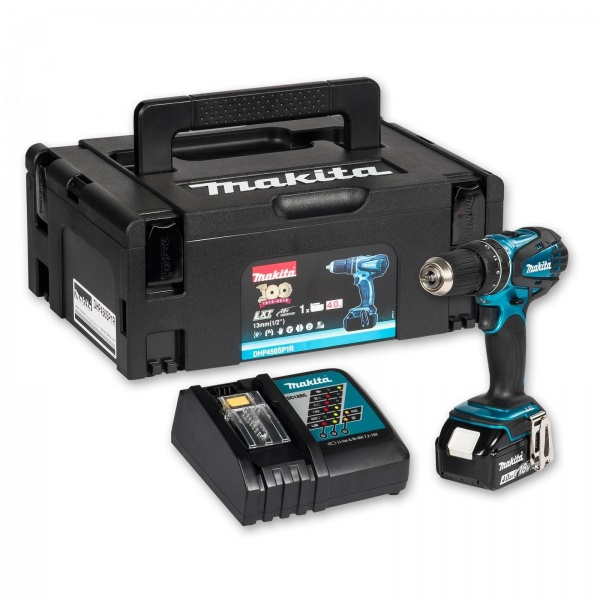 makita dhp453sy combi drill with 1 x 1 5ah battery. Black Bedroom Furniture Sets. Home Design Ideas