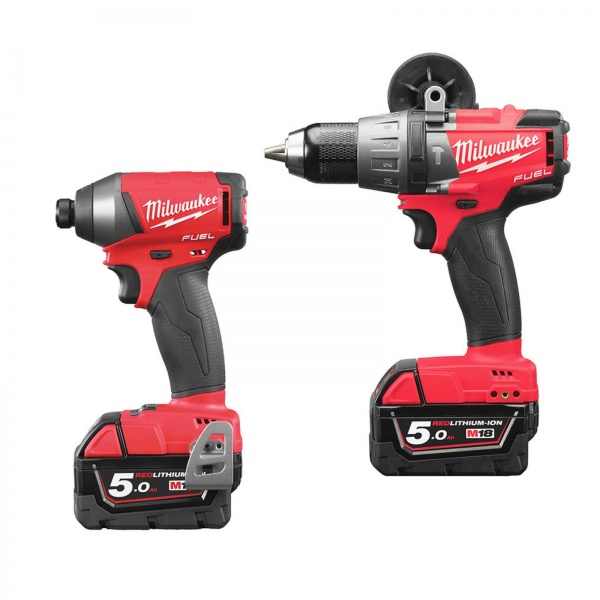 M18FPP2A-502X FUEL TWIN PACK 18V DRILL & IMPACT DRIVER
