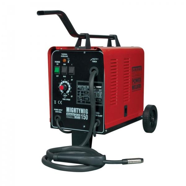 SEALEY MIGHTYMIG150 PRO GAS/NO GAS MIG WELDER 150AMP