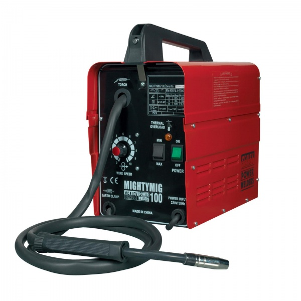 SEALEY MIGHTYMIG100 PRO NO-GAS MIG WELDER 100AMP