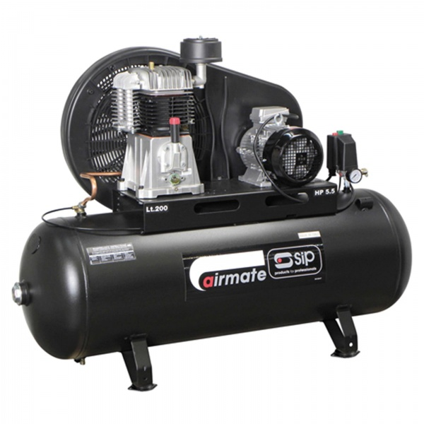 SIP 06583 Airmate TN5.5/200 Compressor (3phase)