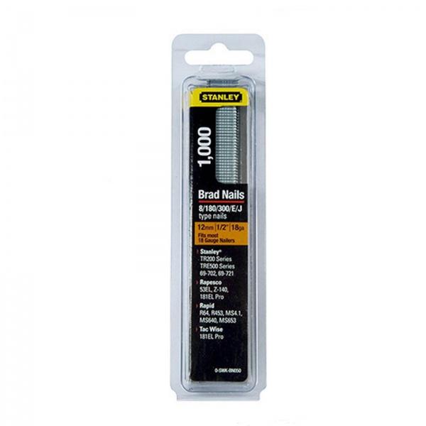 STANLEY 0-SWK-BN050 BRAD NAIL 12MM PK1000