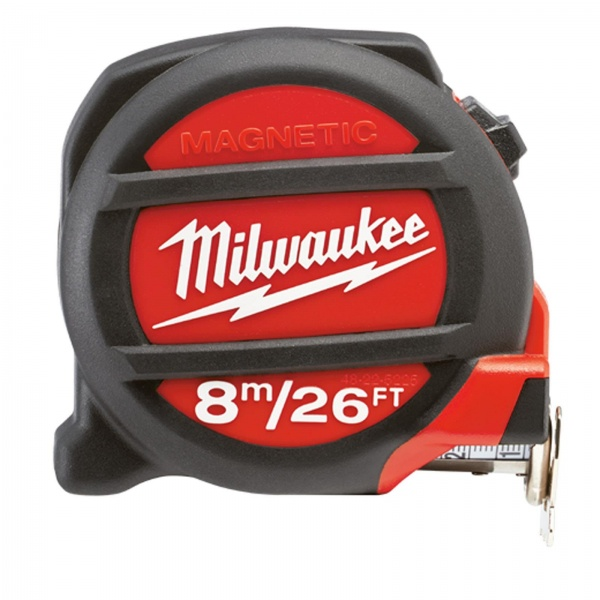 TAPE MEASURE 8MTR 26FT MILWAUKEE