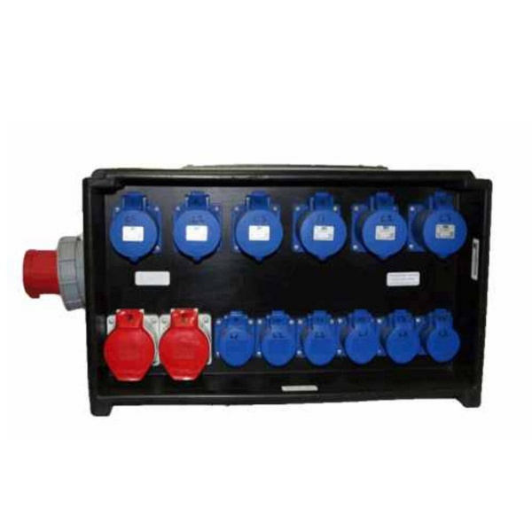 DIST BOARD 63AMP (3PH) - 6 X 32AMP (1PH)