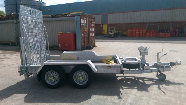 LARGE PLANT TRAILER INDESPENSION 3500KG