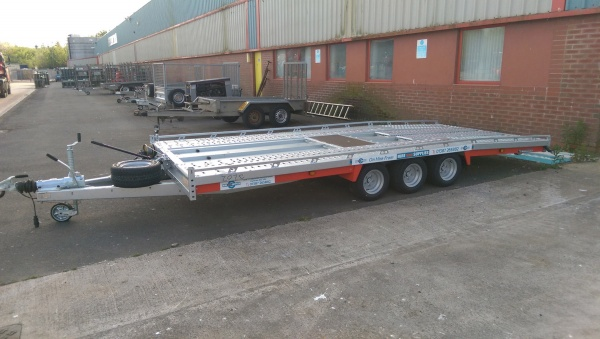 TILT BED TRAILER 5MTR x 2.1MTR 3500KG