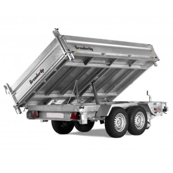 3 WAY TIPPING TRAILER 3.5T 10'x5'10