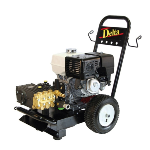 Hire a Delta petrol pressure washer from Dumfries and Oban