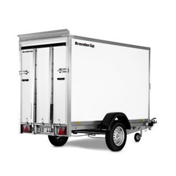 TOW-A-VAN BOX TRAILER 8'x5' LOAD LUGGER 1500KG