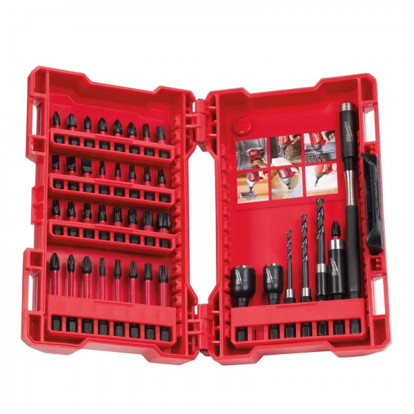 MILWAUKEE SHOCKWAVE DRILL AND DRIVE SET 40PC