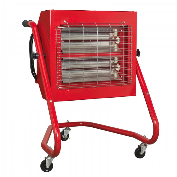 SEALEY IRS153 INFRARED HALOGEN HEATER 1.5/3KW 230V