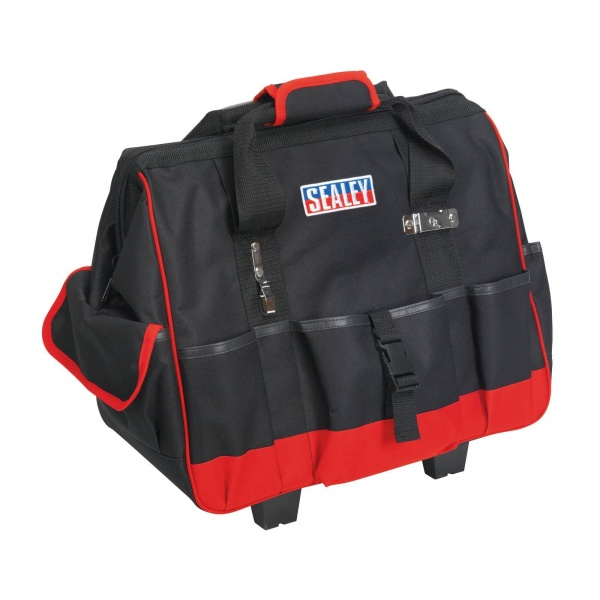 SEALEY AP511 TOOLBAG WITH HANDLE AND WHEELS 470MM
