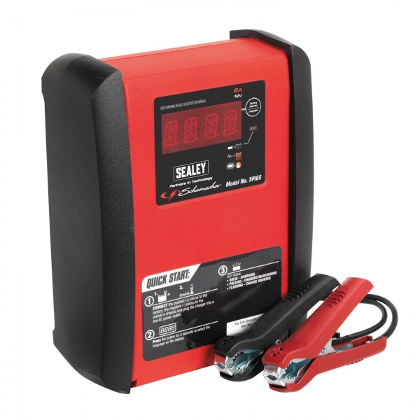 SEALEY SPI6S INTELLIGENT SPEED CHARGE BATTERY CHARGER 6AMP