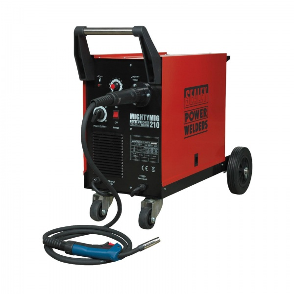 SEALEY MIGHTYMIG210 MIG WELDER 210AMP WITH EURO TORCH