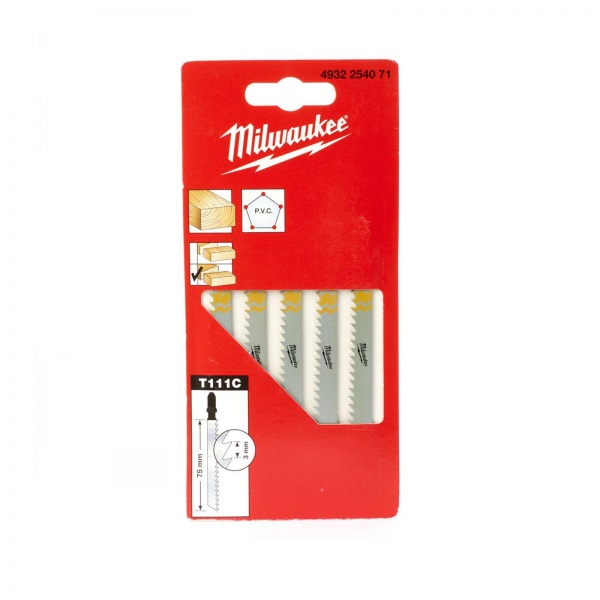 MILWAUKEE 4932254071JIG SAW BLADE 75/3  T111C