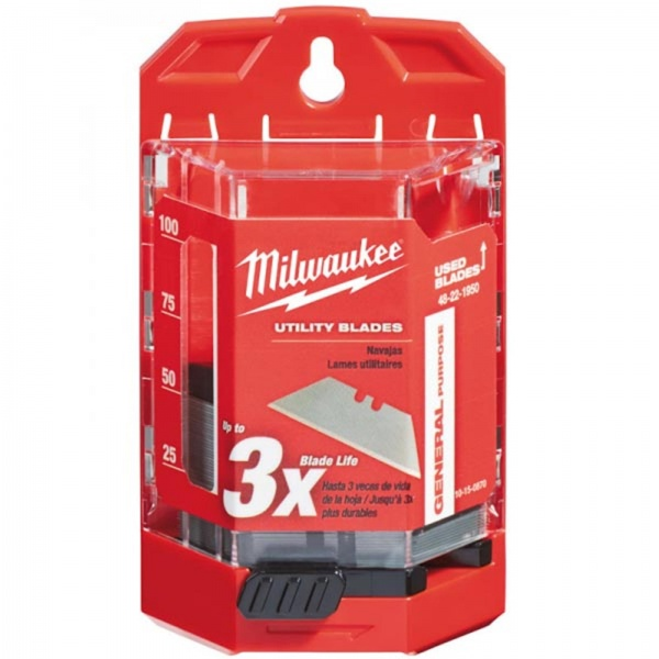 MILWAUKEE 48221950 Knife Blades Bulk Pack 50 Piece
