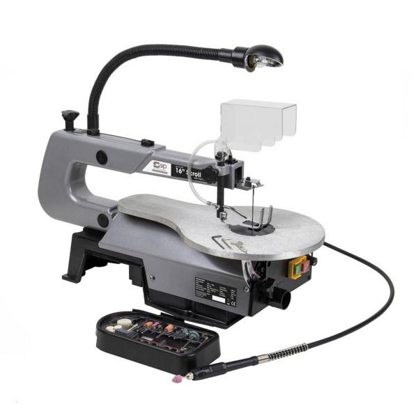 SIP 01947 1 INCH SCROLL SAW WITH FLEXI DRIVE SHAFT 230V