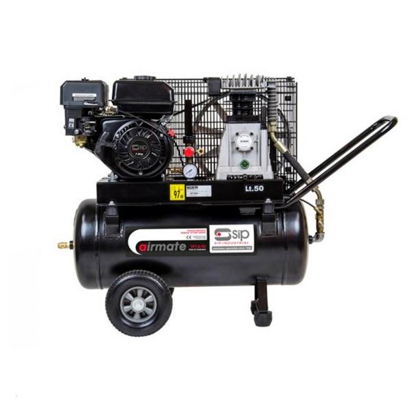 SIP 06217 AIRMATE TP7.0/50 PETROL COMPRESSOR