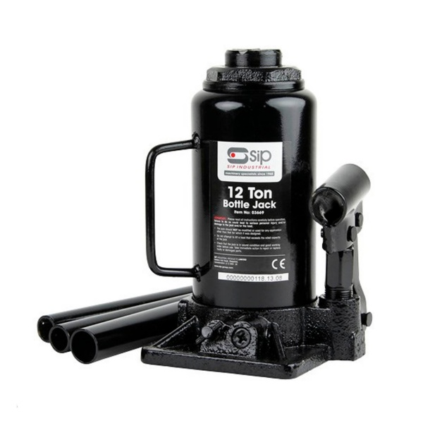 SIP 03669 12 Ton Bottle Jack