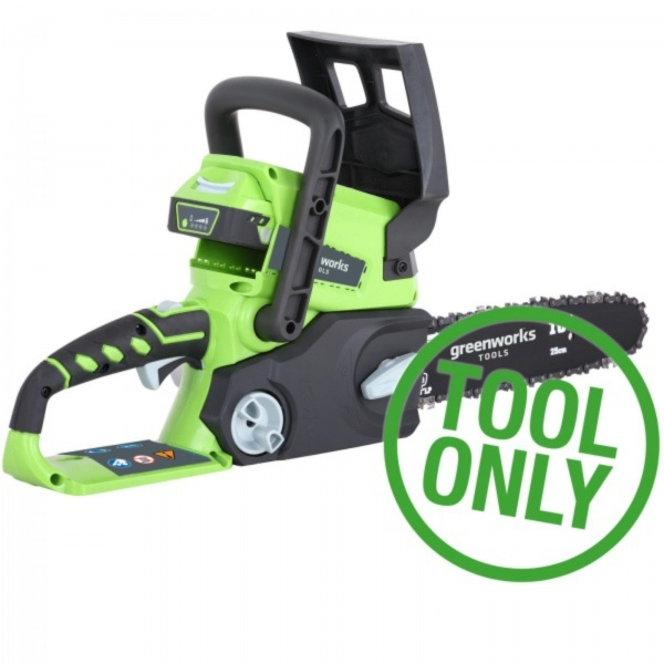 GREENWORKS G24CS25 24V BODY ONLY CORDLESS CHAINSAW