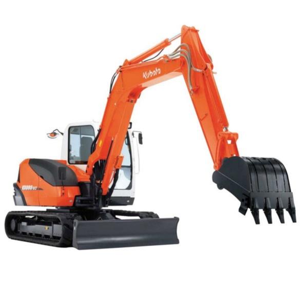 Kubota KX080-4α 8ton Excavator