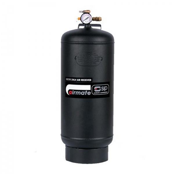 SIP 06298 Vertical Air Receiver - 24 litre