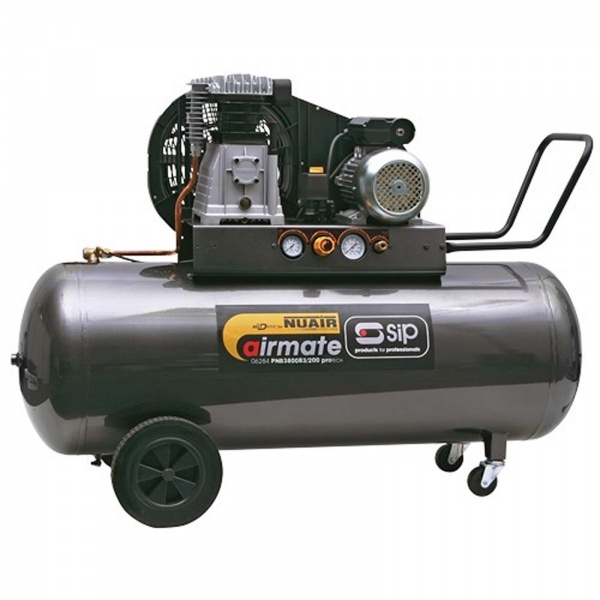 SIP 06284 Airmate PN3800B3/200 proTECH Compressor