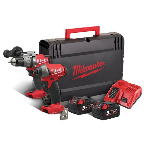 MILWAUKEE M18ONEPP2A-502X ONE KEY TWIN PACK 18V
