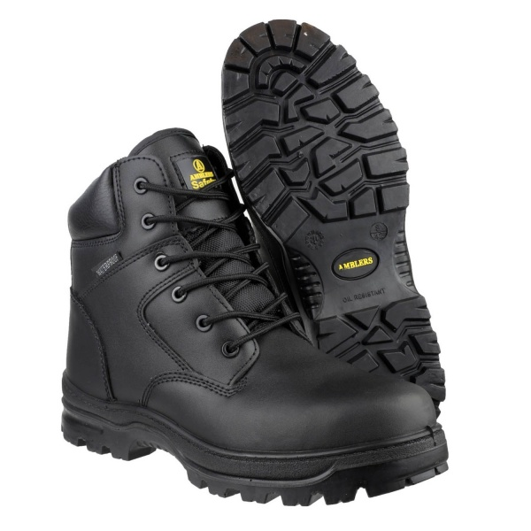 AMBLERS FS006C METAL FREE WATERPROOF LACE UP SAFETY BOOT