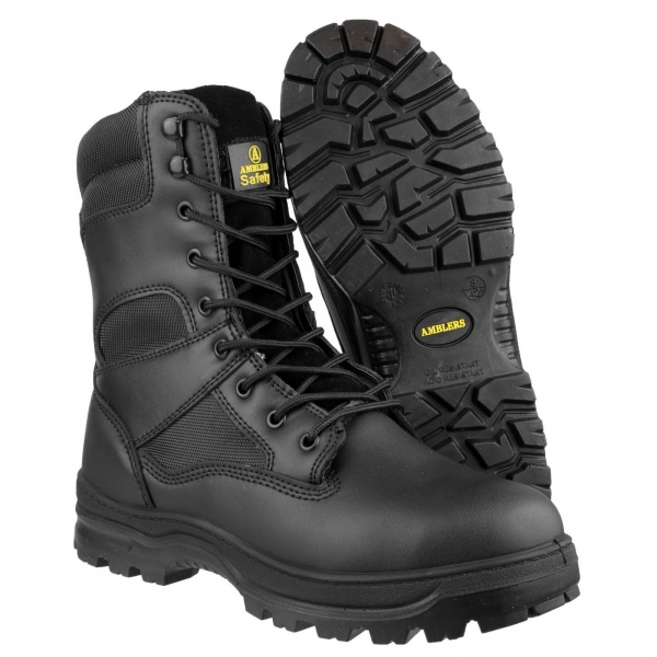 AMBLERS FS008 WATER RESISTANT HI-LEG LACE UP SAFETY BOOT