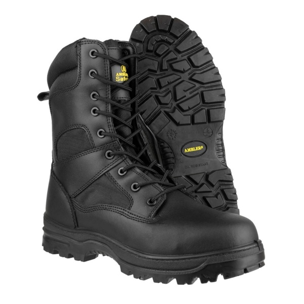 AMBLERS FS009C WATER RESISTANT HI-LEG LACE UP SAFETY BOOT
