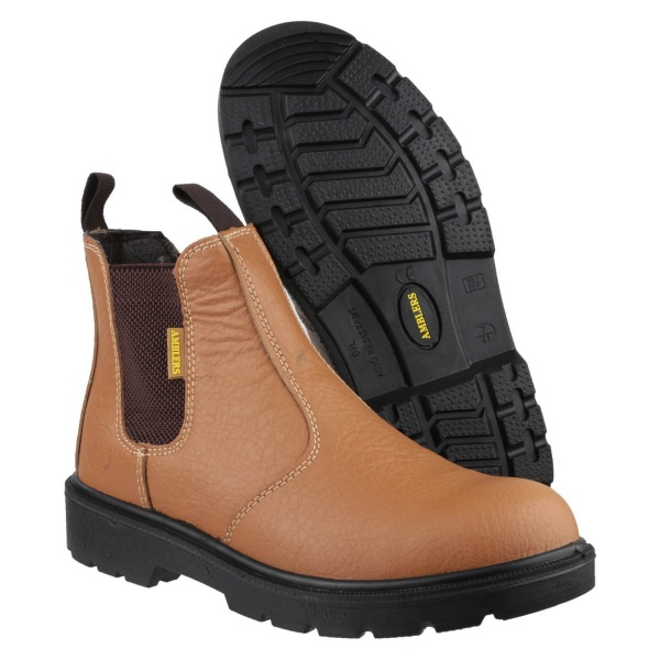 AMBLERS FS115 DUAL DENSITY PULL ON CHELSEA SAFETY BOOT