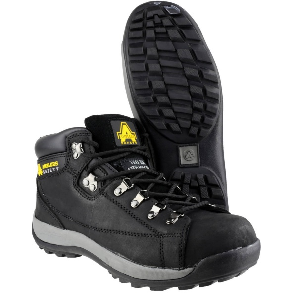 AMBLERS FS123 BLACK SAFETY BOOT