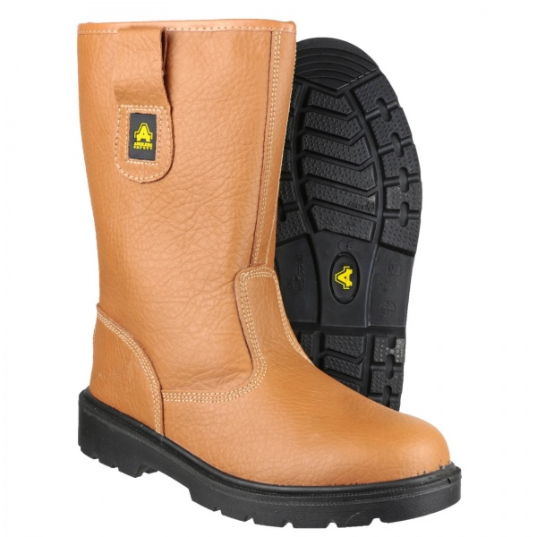 AMBLERS FS125 LIGHTWEIGHT PULL ON SAFETY RIGGER BOOT