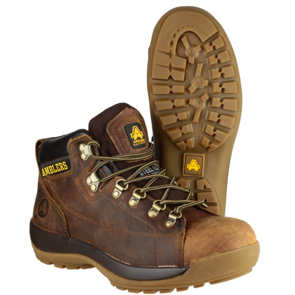 AMBLERS FS126SPB BROWN SAFETY BOOT
